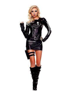 terminator killer cutie adult women's costume | Home • Costumes • Sexy Costumes • 80's Costumes