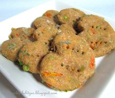 For Dogs Only:  Chicken Pot Pie Treats