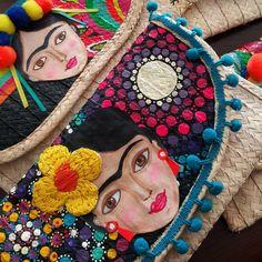Frida clutches  #BeMadebyHand #clutch #handmade #artesanal #artisam #frida…