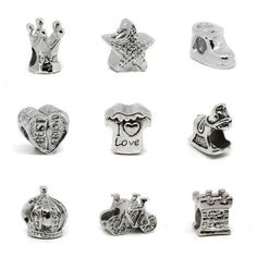 10 Pcs of Mixed Lots Cute Style Designs Sliver Plated European Beads Charm Spacer for Your Pandora, Biagi, Troll, Chamilla Bracelets Brazlet - Natural by Handmade,http://www.amazon.com/dp/B00D2JQT9C/ref=cm_sw_r_pi_dp_VFfQrbB9D8624788