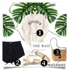 """""""🍃"""" by patri-fachini ❤ liked on Polyvore featuring Mark & Graham and Gap"""