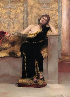Jean-Joseph-Benjamin Constant (1845-1902) The Odalisque