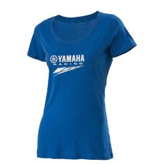 Show your Yamaha Racing pride with this Yamaha Racing Eternal Tee. This tee features: Made of pre-shrunk 100% combed cotton jersey fabric Super soft scoop Fitted T-shirt Yamaha Racing logo on upper chest