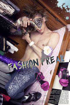Fashion Freak by Mariusz Brianski & Anna-Zalewska     http://thestylisto.com/models/129-fashion-freak-by-mariusz-brianski-anna-zalewska