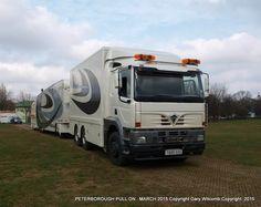 Fun Fair, Peterborough, Caravans, Old Trucks, Recreational Vehicles, Trailers, Transportation, March, Trucks