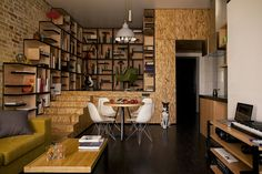 Ingenious Apartment Design Based on the Idea of Constant Motion in Kiev