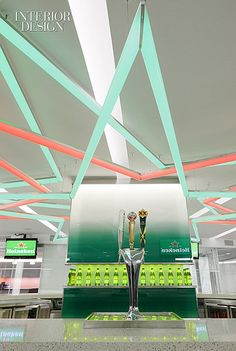 Something's Brewing: Heineken's Thoroughly Branded New York Office by TSC Design #office