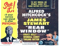 Rear Window - title card
