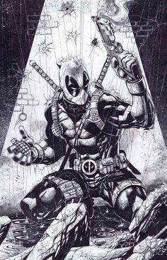 Deadpool by Emil Cabaltierra *