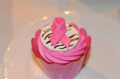 breast cancer cupcake - Google Search