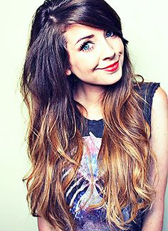 Here is the lovely Zoe Sugg, I absolutely adore her! She's hilarious, knows the lyrics just about every song!