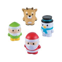 Holiday Character Stress Toys | $2.99 each