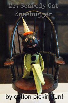 PATTERN Halloween Kneehugger Vintage Inspired by cottonpickinfun