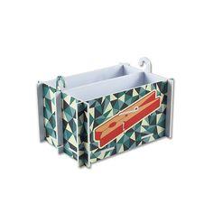 Cesto para grampos Style, para você guardar o seus grampos com segurança e de forma muito criativa.