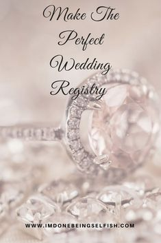 Your Complete Guide To The Perfect Wedding Registry, wedding, bride, bridal registry,