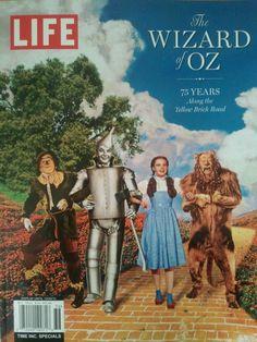 The Wizard of Oz on Life Magazine celebrating the film's 75 anniversary.