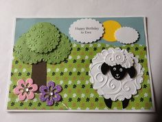 Happy Birthday to Ewe! General Birthday Card 2013