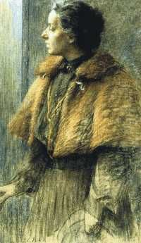 Louise Catherine Breslau (1856–1927) was a Swiss artist. Suffering from asthma all her life, Breslau turned to drawing as a child to help pass the time while confined to her bed. Although she became one of the most sought after portraitists of her time, after her death she and her work were all but forgotten. It has only been in the past few years that interest in Breslau and her works has been growing.