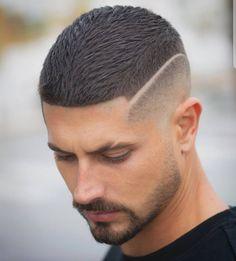 Cortes de pelo hombre 2019 - 80 + ideas para chicos atrevidos - Art Tutorial and Ideas Boy Haircuts Short, Haircuts For Men, 2018 Haircuts, Men Haircut Short, Short Men, Mens Hairstyles 2018, Hairstyles Haircuts, Hot Hair Styles, Hair And Beard Styles