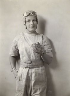 Kay Petre, Canadian race car driver in the 1930s. #WriteHerStory #FilmHerStory