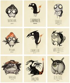 Pokemon - Tim Burton
