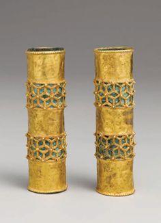 Islamic Hair Ornaments, Iran, 12th-13th century C.E.