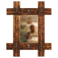 Lone Star Rustic Mirror