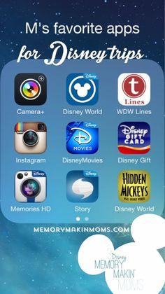 Apps for Disney