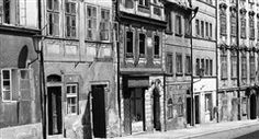 Domy Hradčanského Úvozu (4559), Praha, červen 1966