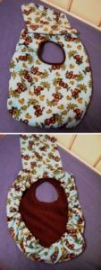 Craft Project: Handmade Baby Carrier Cover