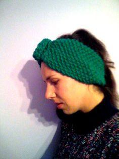 Girly headband / color made to order/ one by KaterinakiJewelry Warm Headbands, Ear Warmer Headband, Ear Warmers, Beanie, Girly, Wool, Hats, Handmade, Hand Made