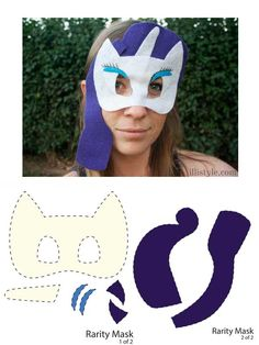 How to make a MLP Mask Rarity - illistyle.com