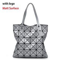 9452c1381e Aliexpress.com   Buy Top Design Women Fashion Matte Surface BaoBao Bag  Geometry Package Folding Casual Tote Japan Bao Bao Handbag Bolso Sac from  Reliable ...