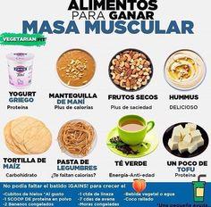 recetas para ganar masa muscular rapidamente