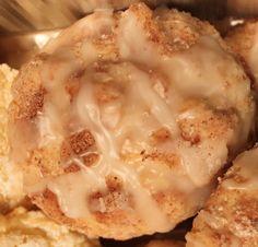 Gooey Cinnabon CookiesIngredients:1 Box Betty Crocker Decadent Supreme Cinnabon cake mix1 packet cinnamon swirl mix (comes inside cake mix box) (will use to roll cookie balls in later)1 stick butt...