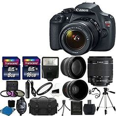 Canon EOS Rebel T5 DSLR Digital Camera & amp Accessory Bundle