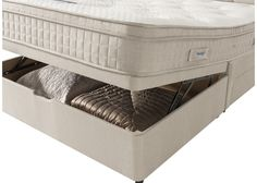 Cutting edge comfort and spacious under-bed storage come together in our Silentnight Glenmore Ottoman Bed. The Silentnight Glenmore Pocket Spring Mattress delivers cutting edge comfort via its advanced zoned support system. Ottoman Bed, Under Bed Storage, Mattress, Pocket, Medium, Spring, House, Furniture, Home Decor
