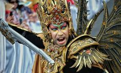 Jember Fashion Carnaval 2016 Carnival, Cosplay, Costumes, Jewelry, Fashion, Jewellery Making, Moda, Dress Up Clothes, Carnivals