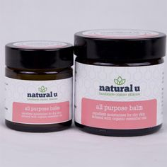 Organic All Purpose Balm from Natural U 30g and 50g