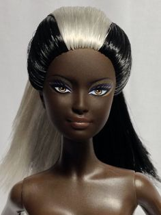 Nude Collector Edition Barbie Doll Ooak Reroot AA Goddess Face Model Muse Basics