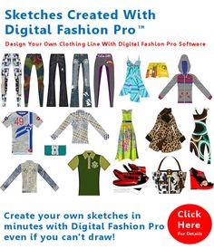 How to start your own clothing line from scratch and design it by http://www.DigitalFashionPro.com