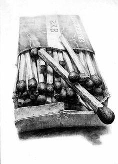 Kunst Bilder ideen - Dessin noir et blanc comment dessiner en noir et blanc style magnifique Realistic Pencil Drawings, Pencil Art Drawings, Art Drawings Sketches, Unique Drawings, Graphite Drawings, Detailed Drawings, Still Life Sketch, Still Life Drawing, Chiaroscuro