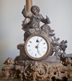 French antique clocks can bring charm and character to any room