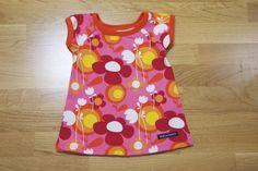 Klänning i Fields rosa med orange mudd. Fields, Orange, Blouse, Tops, Women, Fashion, Moda, Fashion Styles, Blouses