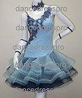 Ready-made Ballroom Latin Rumba Jive Chacha Dress #1833 M size