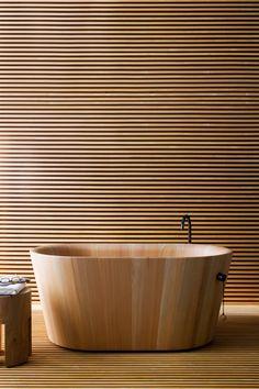 Wooden bath | #archibeastFurniture #bathroom
