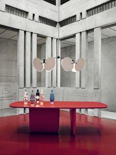 Suspension Metal, Furniture Dining Table, Vintage Interiors, Square Tables, Best Interior Design, Contemporary Interior, B & B, Interior Inspiration, Furniture Design