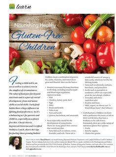 Gluten Free Children - In our Mar-Apr 2013 issue