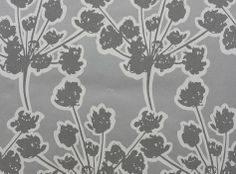 Pin of The Day: Wallpaper Wednesday's Chervil Wallpaper in Chrome from Chervil Wallcoverings Collection.