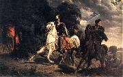 The Escape of Henry of Valois from Poland. Artur Grottger